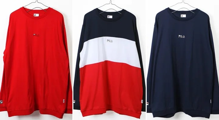 FILA × FREAK'S STORE 別注!レトロスポーツな配色のロングスリーブTEEが12月上旬発売 (フィラ フリークスストア)