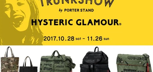 HYSTERIC GLAMOUR × PORTER @PORTER STAND TOKYO STATIONが10/28~11/26展開 (ヒステリックグラマー ポーター)
