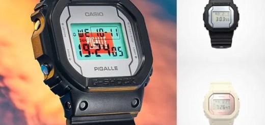 Pigalle× G-SHOCK「DW-5600」2カラーが11/1発売 (ピガール Gショック ジーショック)