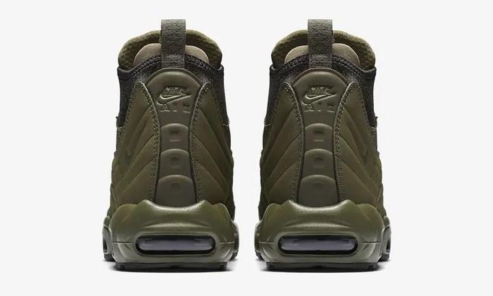 """【オフィシャルイメージ】ナイキ エア マックス 95 スニーカー ブーツ """"ミディアム オリーブ"""" (NIKE AIR MAX 95 SNEAKERBOOT """"Medium Olive"""") [806809-202]"""