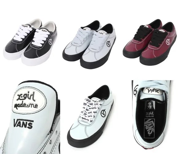 X-girl × MADE ME × VANS WALLY VULCが近日発売 (エックスガール メイド ミー バンズ) [VN0A3Q3ZQ0T]