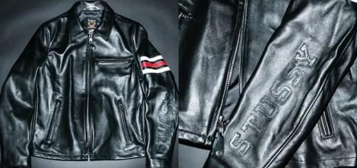 STUSSY × SCHOTT NYC ライダースジャケットが発売 (ステューシー ショット)