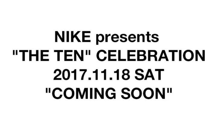 """【国内 11月9日~発売*取扱店舗情報】OFF-WHITE c/o VIRGIL ABLOH × NIKE """"The Ten"""" (オフホワイト ナイキ """"ザ・テン"""")"""