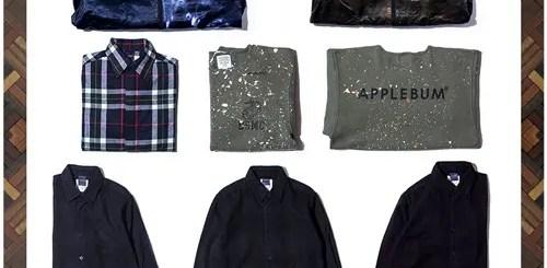 APPLEBUMから独特な模様が楽しめる「MA-1」や繊細な染め技術でグラデーションを表現したシャツなど全5型が発売 (アップルバム)