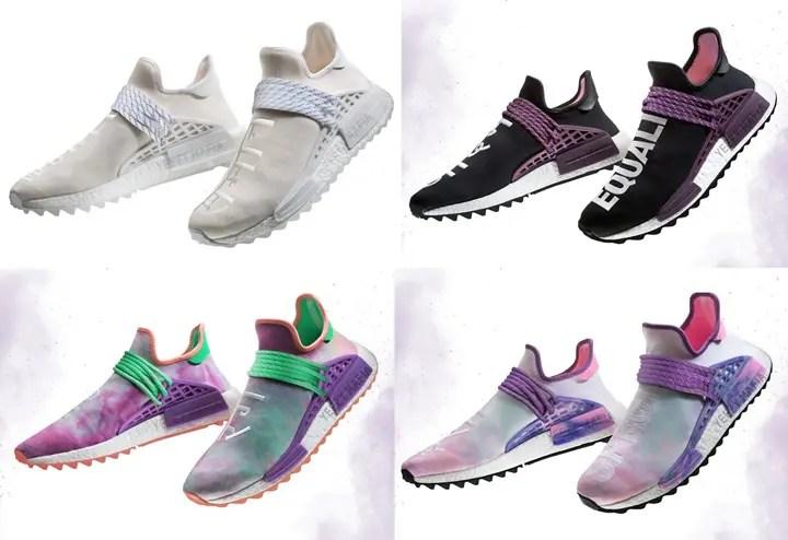 【リーク】2018 S/Sモデルが登場!Pharrell Williams x adidas Originals NMD Human Trail 4カラー (ファレル・ウィリアムス アディダス オリジナルス ヒューマン エヌエムディー トレイル) [AC7031,7032,7033,7034]
