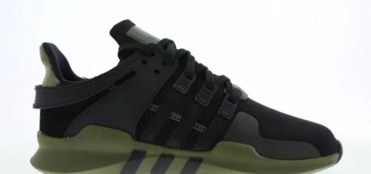 """11/18発売予定!アディダス オリジナルス エキップメント サポート ADV """"コア ブラック/オリーブ カーゴ"""" (adidas Originals EQT SUPPORT ADV """"Core Black/Olive Cargo"""") [CM7415]"""