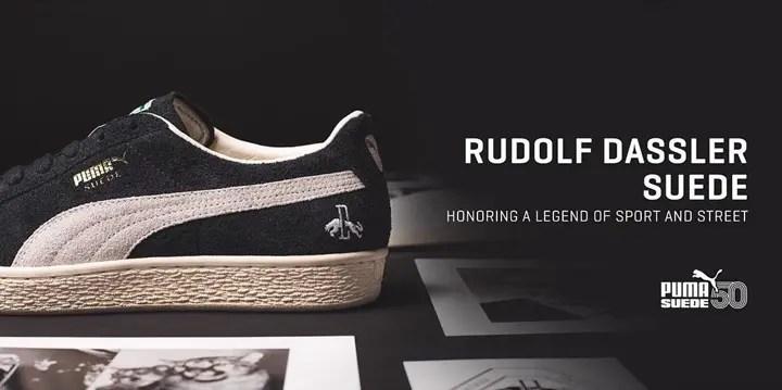 PUMA SUEDE 50周年を記念したPUMA SUEDE CLASSIC RUDOLF DASSLERが11/16から発売 (プーマ スエード クラシック ルドルフ・ダスラー) [366170-01]