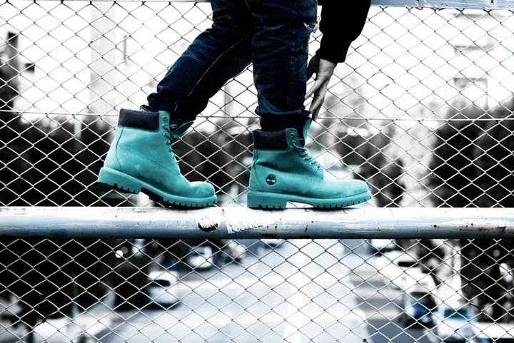 """11/18発売!atmos × Timberland 6 INCH PREMIUM BOOTS """"TEAL BLUE WATERBUCK"""" (アトモス ティンバーランド 6インチ プレミアム ブーツ """"ティールブルー ウォーターバック"""")"""