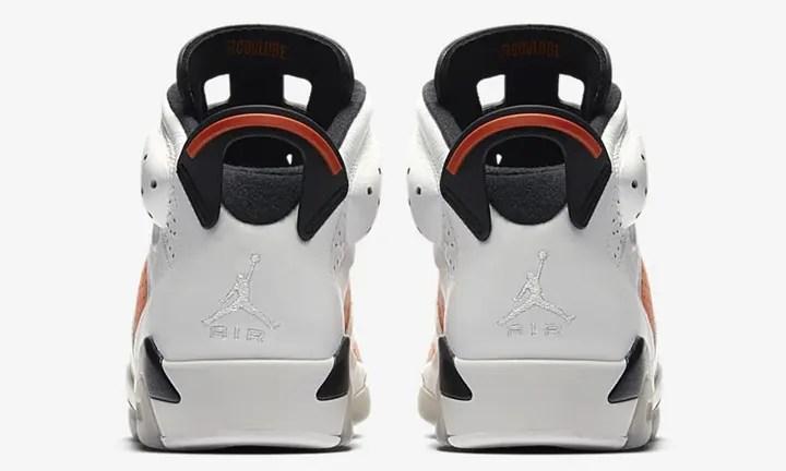 """【オフィシャルイメージ】12/16発売!ナイキ エア ジョーダン 6 レトロ """"ゲータレード"""" ホワイト/オレンジ (NIKE AIR JORDAN VI RETRO """"Gatorade"""" White/Orange) [384664-145]"""