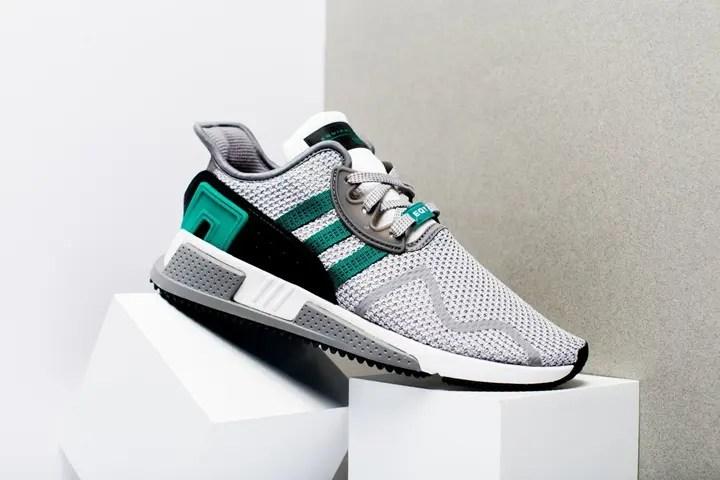 """adidas Originals EQT CUSHION ADV """"Grey Two/Sub Green"""" (アディダス オリジナルス エキップメント クッション ADV """"グレー ツー/サブ グリーン"""") [AH2232]"""