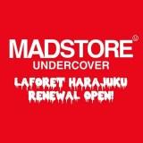 マッドストア アンダーカバー のラフォーレ原宿店が11/23に拡張リニューアルオープン (MADSTORE UNDERCOVER)