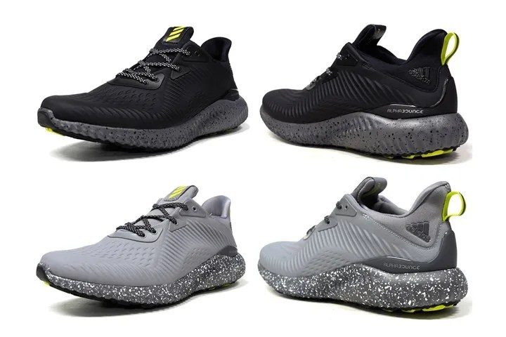 adidas ALPHA BOUNCE EM COATED 2カラー (アディダス アルファ バウンス EM コーテッド) [BW1223,1224]
