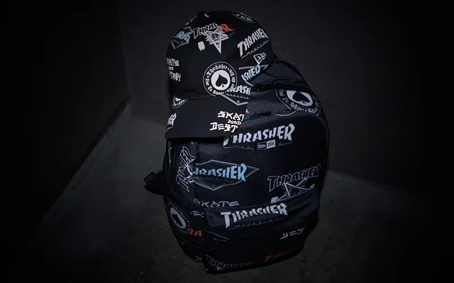 New Era × THRASHER ニューコラボ 6型がリリース (ニューエラ スラッシャー)