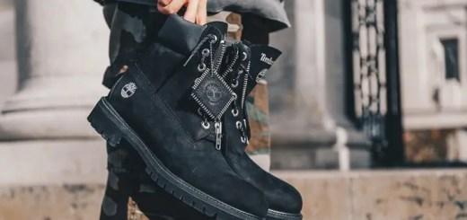 """Villa EXCLUSIVE × Timberland 6 inch Boot """"BLACK ZIP"""" (ヴィラ ティンバーランド 6インチ ブーツ """"ブラック ジップ"""")"""