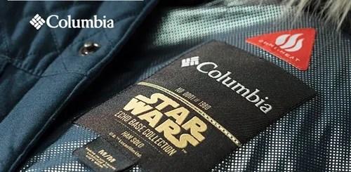 コロンビアから、映画「スター・ウォーズ」にインスパイアされたコレクション「STAR WARS ECHO BASE COLLECTION」が12/8から数量限定にて発売 (Columbia)