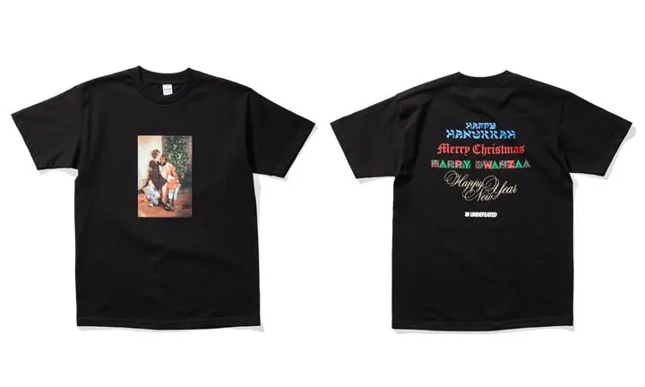 "UNDEFEATED ""Pity The Holidays"" TEE (アンディフィーテッド ""ピティー ザ ホリデー"")"