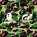 A BATHING APE × Gran Turismo コラボが12/9からリリース (ア ベイシング エイプ グランツーリスモ)