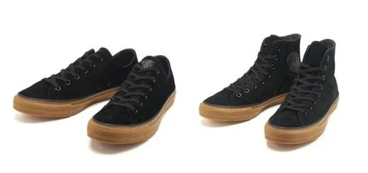 アメリカのブーツメーカー「WOLVERINE」のスエード素材をアッパー全面に採用したCONVERSE SUEDE ALL STAR WV GM OX/HI (ウルヴァリン スエード コンバース オールスター)