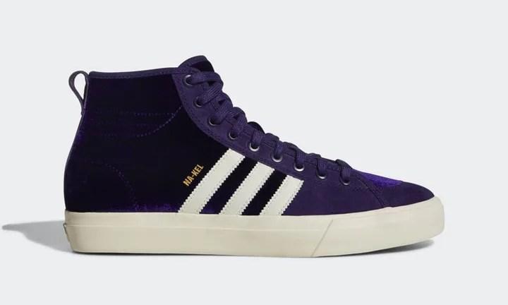 """12/15発売!アディダス マッチコート ハイ RX ナケル・スミス """"ダーク パープル"""" (adidas MATCHCOURT HIGH RX NA-KEL SMITH """"Dark Purple"""") [CQ1119]"""