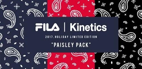 "FILA x Kinetics ""Paisley Pack""が近日展開予定 (フィラ キネティクス ""ペイズリー パック"")"