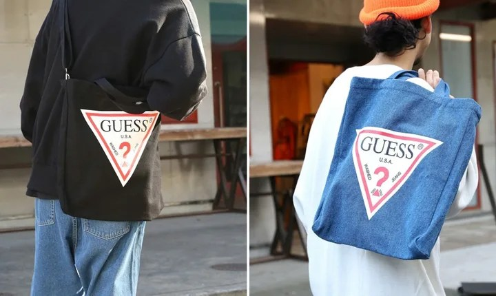 web限定!GUESS × FREAK'S STORE ロゴ 2WAY ショルダーバッグが2018年2月上旬発売 (ゲス フリークスストア)