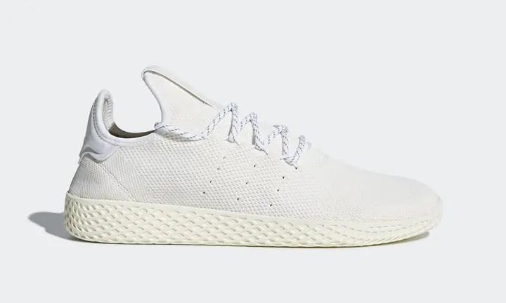 """2018年2月発売予定!Pharrell Williams x adidas Originals Human Race Tennis HU Holi """"White"""" (ファレル・ウィリアムス アディダス オリジナルス ヒューマン レース テニス ホーリー """"ホワイト"""") [DA9613]"""