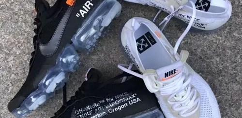 """【続報】2018年2月発売予定!OFF-WHITE c/o VIRGIL ABLOH × NIKE AIR VAPORMAX """"Part 2"""" Black/White (オフホワイト ナイキ エア ヴェイパーマックス """"パート 2"""" ブラック/ホワイト) [AA3831-002,100]"""
