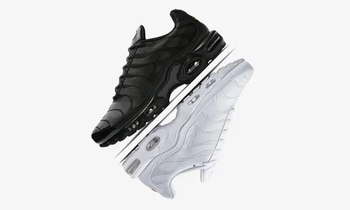 """ナイキ エア マックス プラス """"ブラック/ホワイト"""" (NIKE AIR MAX PLUS """"Black/White"""") [AJ2029-001,100]"""