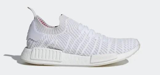 """4/1発売予定!adidas Originals NMD_R1 STLT PRIMEKNIT {PK} """"white (アディダス オリジナルス エヌ エム ディー プライムニット """"ホワイト"""") [CQ2390]"""