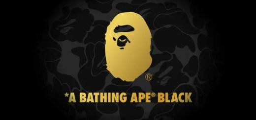 【速報】A BATHING APE BLACK 2018 S/S コレクションが1/27から発表! (ア ベイシング エイプ ブラック)