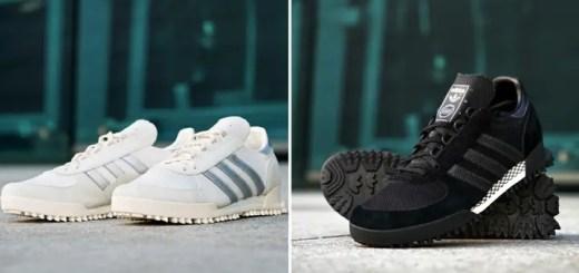 """3月下旬発売!EDIFICE × adidas Originals Marathon TR """"Black/White"""" (エディフィス アディダス オリジナルス マラソン TR """"ブラック/ホワイト"""")"""