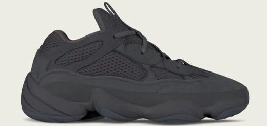 """6月発売予定!アディダス イージー デザート ラット 500 """"ユーティリティ ブラック"""" (adidas YEEZY DESERT RAT 500 """"Utility Black"""") [F36640]"""