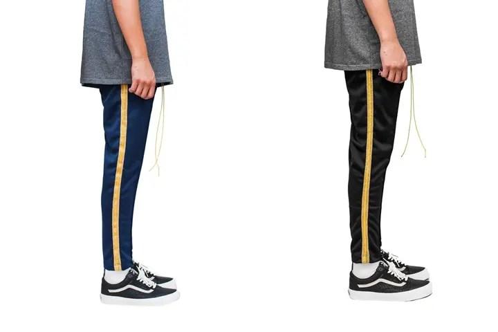 MintCrewからCropped Track Pantsが発売 (ミントクルー)