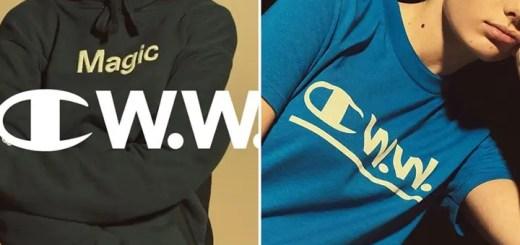 2/24展開!WOOD WOOD x Champion 2018 S/S COLLECTION (ウッドウッド チャンピオン 2018 春夏コレクション)