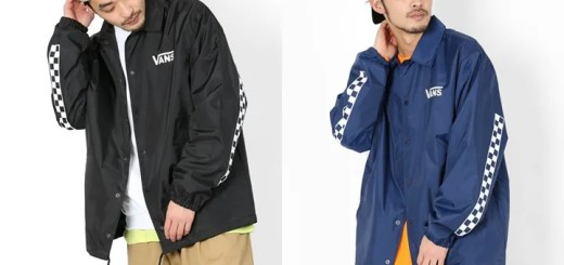 裾にチェッカーをプリントしたFREAK'S STORE × VANS 別注 コーチジャケットが発売 (フリークスストア バンズ)