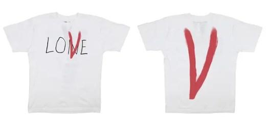 VLONE から「LONE ⇒ LOVE」に変更されたTEEがリリース予定 (ヴィーロン)