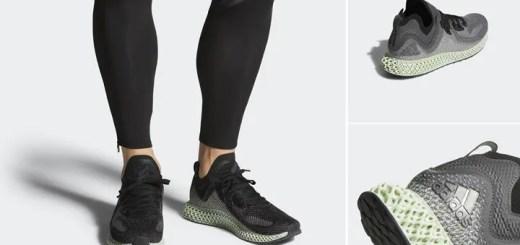 """2/18発売!adidas ALPHAEDGE 4D LTD """"Core Black (アディダス アルファエッジ 4D LTD """"コアブラック"""") [AC8485]"""