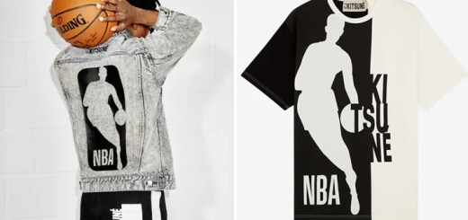 MAISON KITSUNE × NBAがコラボレーションしたカプセルコレクションが発売 (メゾン キツネ エヌビーエー)