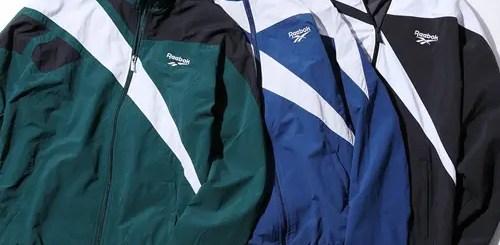 REEBOKから90年代に実在したウェアと当時のリーボックの象徴である「Vector-ベクター」ロゴを現代に復刻させたコレクションが発売 (リーボック)