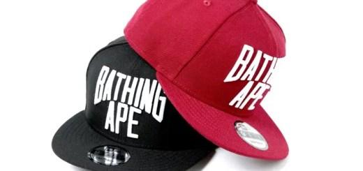 A BATHING APEからNew EraのボディにNYC LOGOを施した「NYC LOGO NEW ERA SNAP BACK CAP」が2/24発売 (ア ベイシング エイプ)