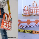 "Heron Preston × OFF-WHITE C/O VIRGIL ABLOH ""Collaboration"" Bag (ヘロン・プレストン オフホワイト)"