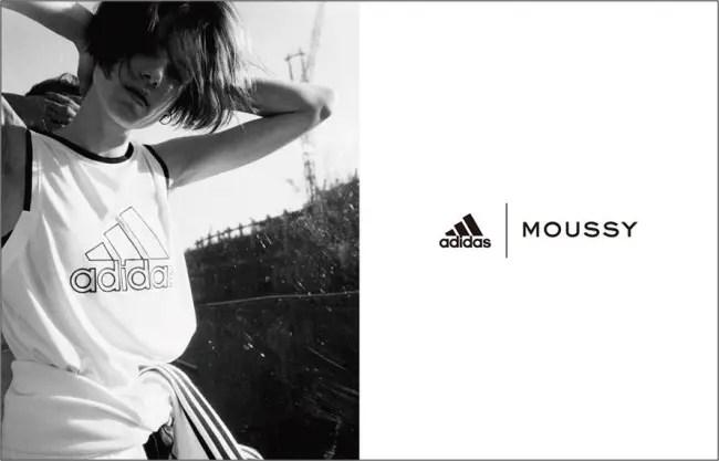adidasとMOUSSYの共同開発による初のスポーツコレクション 第3弾が3/2発売! (アディダス マウジー)