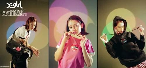 calif 11周年!X-girlは「The Powerpuff Girls」「Manhattan Portage」とのコラボレーションが2/14から発売 (カリフ エックスガール)