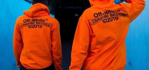 """パリ限定!OFF-WHITE c/o VIRGIL ABLOH x Chrome Hearts 2018 """"Orange Hoodie""""が3/1リリース (オフホワイト クロムハーツ)"""