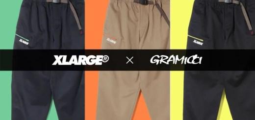 GRAMICCI × XLARGE 2018 S/Sが近日展開予定 (グラミチ エクストララージ)