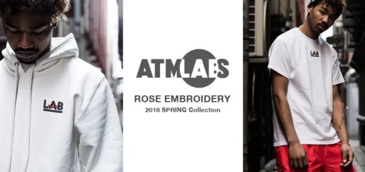 ATMOS LAB ROSE EMBROIDERY SERIES (アトモスラボ ローズ エンブロイダリー)