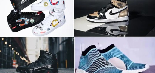 "【まとめ】3/10発売の厳選スニーカー!(SUPREME NIKE AIR FORCE 1 07 MID)(AIR JORDAN 1 RETRO HIGH OG NRG ""Black/Metallic Gold"")(AIR JORDAN 9 RETRO ""Black/Anthracite"")(Parley for the Oceans × adidas Originals NMD_CS1)他"