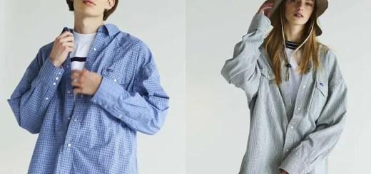 Wrangler × monkey time 別注!オーバーサイズにアレンジしたチェックとヒッコリーのシャツが3/16発売 (ラングラー モンキータイム)