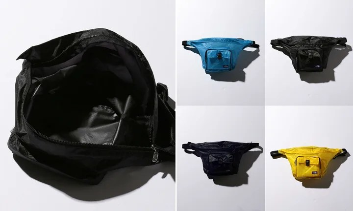 ザ・ノース・フェイス パープル レーベル「Lightweight Waist Bag」2018年 春夏モデル (THE NORTH FACE PURPLE LABEL 2018 SPRING/SUMMER) [NN7810N]