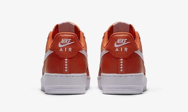"""ナイキ エア フォース 1 07 ロー """"オレンジ"""" (NIKE AIR FORCE 1 07 LOW """"Orange"""") [AA4083-800]"""
